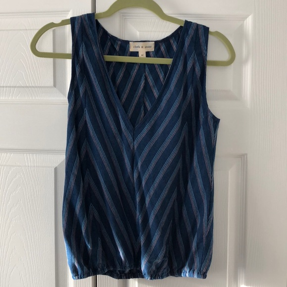 Anthropologie Tops - Anthropologie Cloth & Stone Sleeveless Blouse M